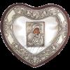 Στεφανοθήκη Ασημένια Καρδιά 105.92.211